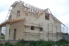 Строительство на участке 10